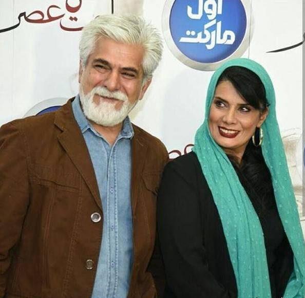 حسین پاکدل و همسرشعاطفه رضوی