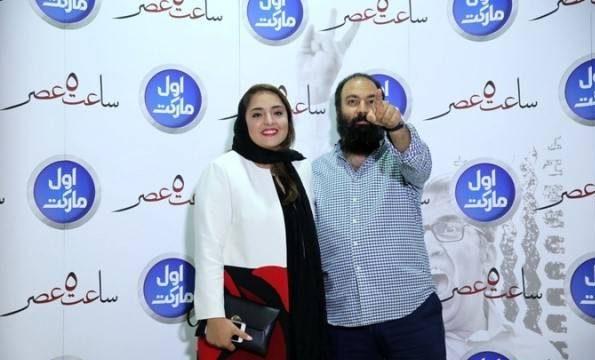 علی اوجیو همسرشنرگس محمدی