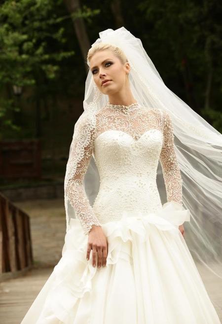 مدل های لباس عروس جدید