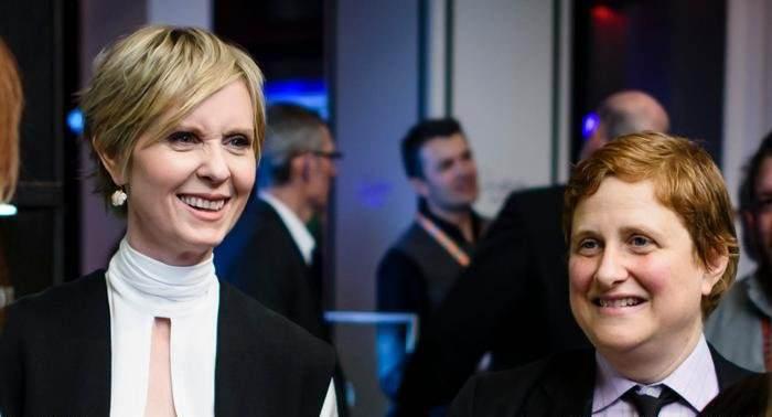 سینتیا نیکسون و کریستین ماریونی