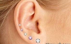 عوارض سوراخ کردن گوش جهت گوشواره 1