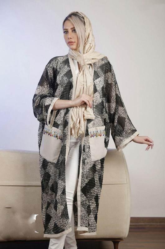 مدل مانتو ایرانی ساراش برای خانم های خوش پوش ایرانی