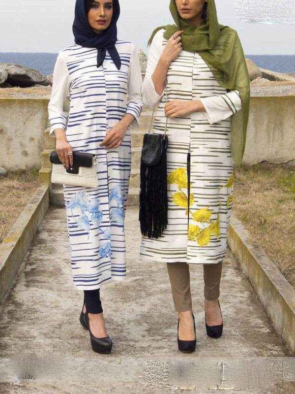 گالری مدل مانتوهای شیک تابستانی برند تن پوش