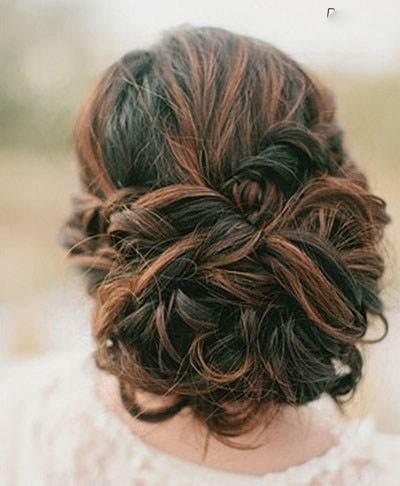 جدیدترین مدل های شینیون موی عروس بسیار زیبا