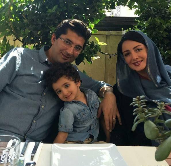 جدیدترین عکس های خانوادگی شیلا خداداد همسر و فرزندانش