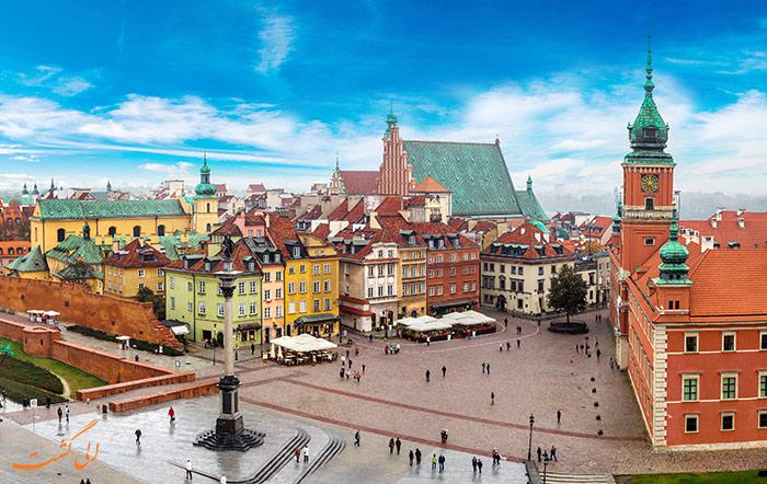 ورشو پایتخت لهستان
