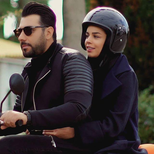 عکسهای جذاب احسان خواجه امیری و همسرش
