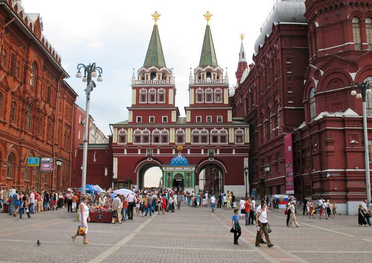 ورودی میدان سرخ