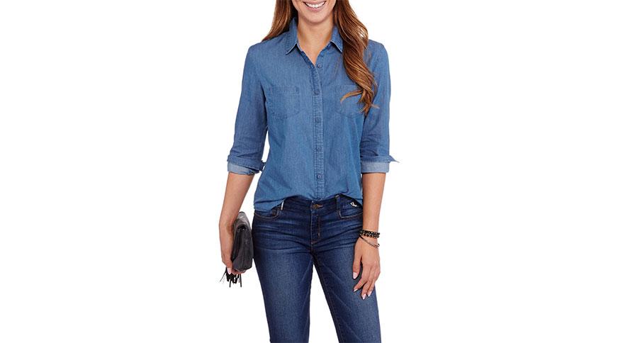 شلوار جین زنانه را با چه چیزهایی بپوشیم