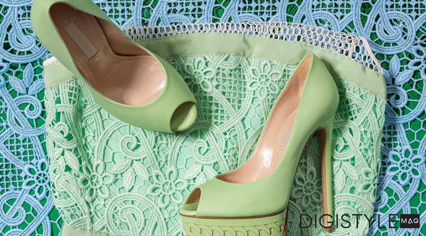 ست کردن کفش با لباس زنانه