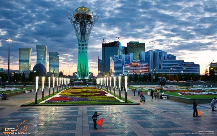 مکان های گردشگری قزاقستان