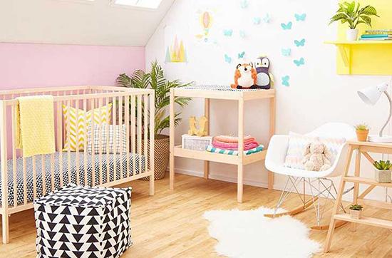 فنگ شویی اتاق نوزاد