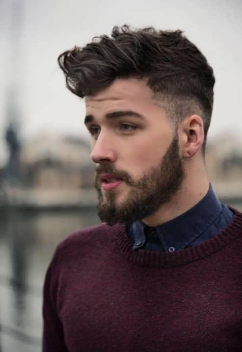 مدل موهای زیبای مردانه برای صورت های لاغر و کشیده