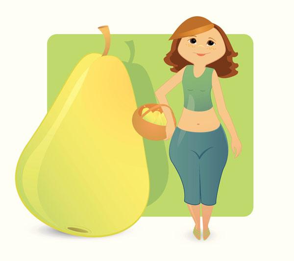 رژیم غذایی مناسب هر تیپ بدنی در خانمها
