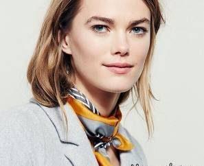 روش بستن دستمال گردن زنانه به سبک فرانسوی