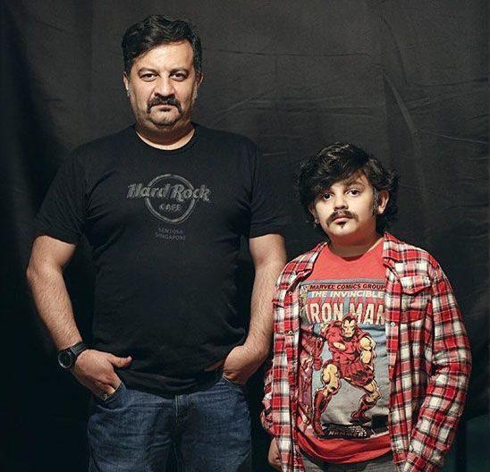 مهراب قاسمخانی و پسرش