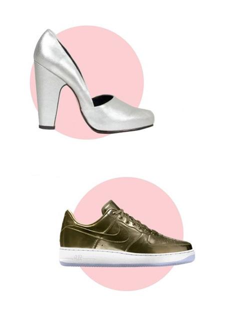 کفش پاشنه بلند کفش تخت