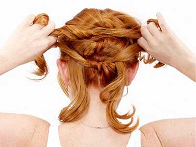Photo of آموزش بافت مو به صورت گره ای پشت سر