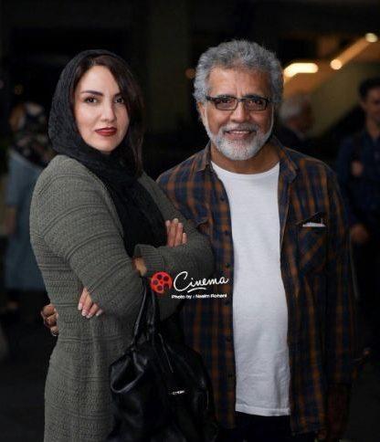 بهروز افخمیوهمسرش مرجان شیرمحمدی