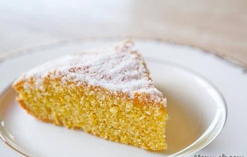 طرز تهیه کیک پرتقال و آرد ذرت کیکی ساده و خوشمزه