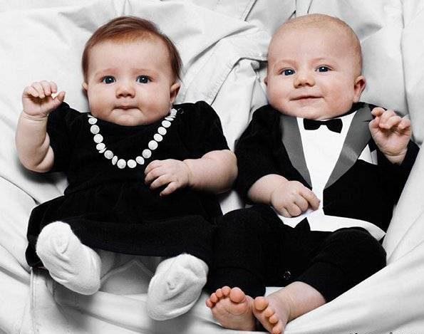 تشخیص جنس نوزاد از روی شکل مادر
