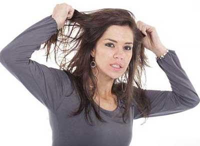 موی چرب, چرب شدن مو, دلیل چرب شدن مو