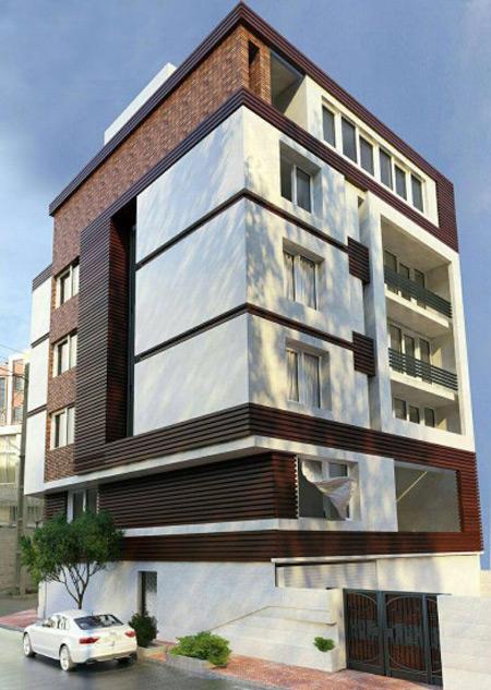 مدل های سنگ نمای ساختمان