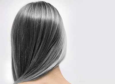 سفید شدن مو در جوانی