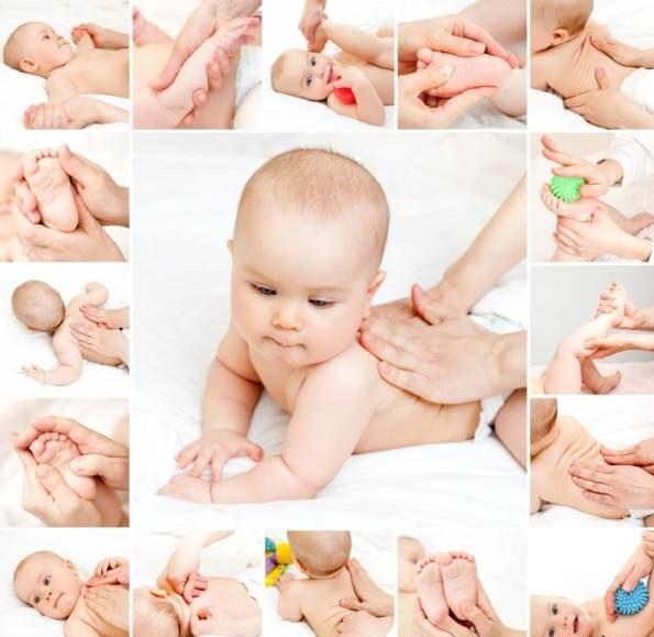ماساژ بدن کودک