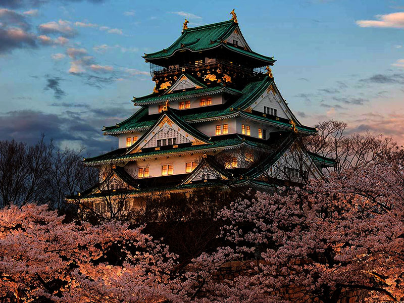 اوزاکا در ژاپن
