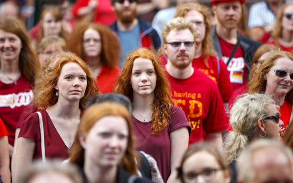 جشنواره مو قرمزها