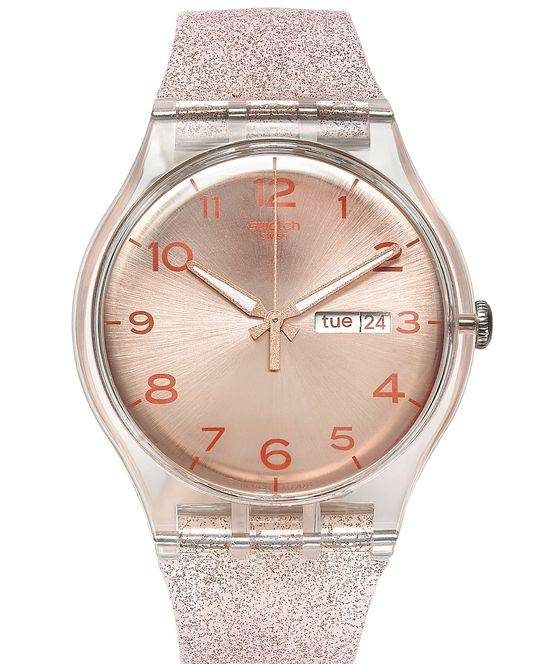 مدل ساعت مچی دخترانه زیبا برند سواچ