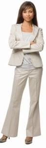 راهنمای انتخاب کت و شلوار زنانه مناسب