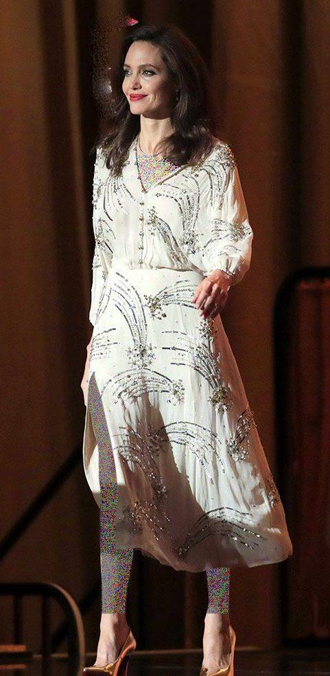 تیپ و مدل لباس آنجلینا جولی