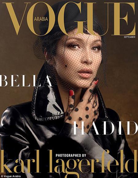 Photo of عکس های بلا حدید مدل و مانکن روی جلد مجله ووگ