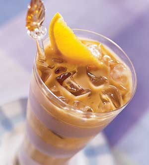 قهوه پرتقالی