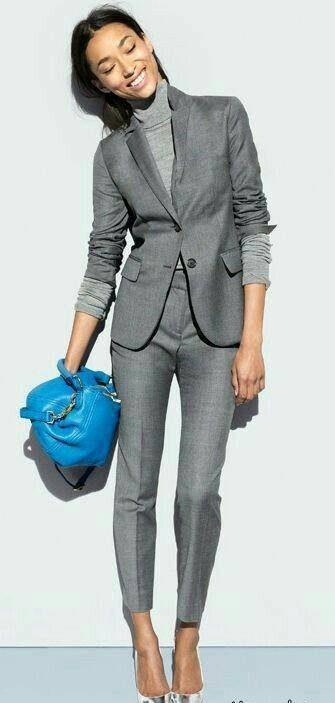 مدل های کت و شلوار برای زنان قد کوتاه