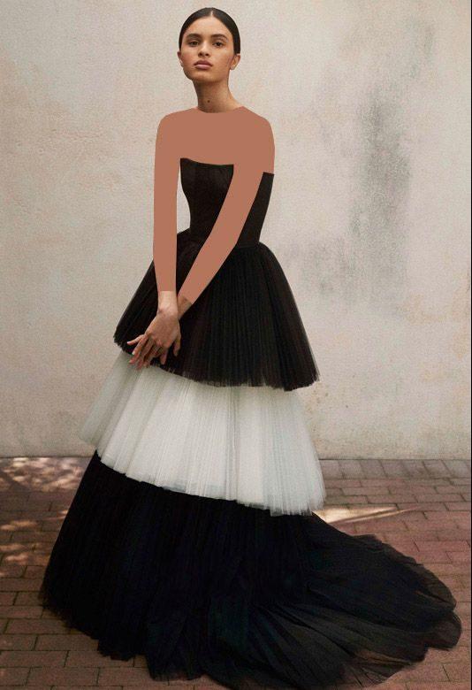 مدل های لباس مجلسی برند Carolina Herrera ساده و زیبا