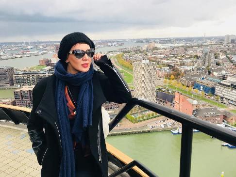 عکس های لیلا بلوکات با تیپ متفاوت در هلند و ایتالیا