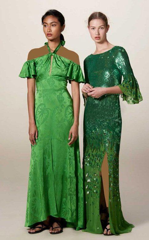 مدل های جدید لباس مجلسی بلند برند Temperley