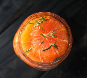دسر پرتقال و رزماری