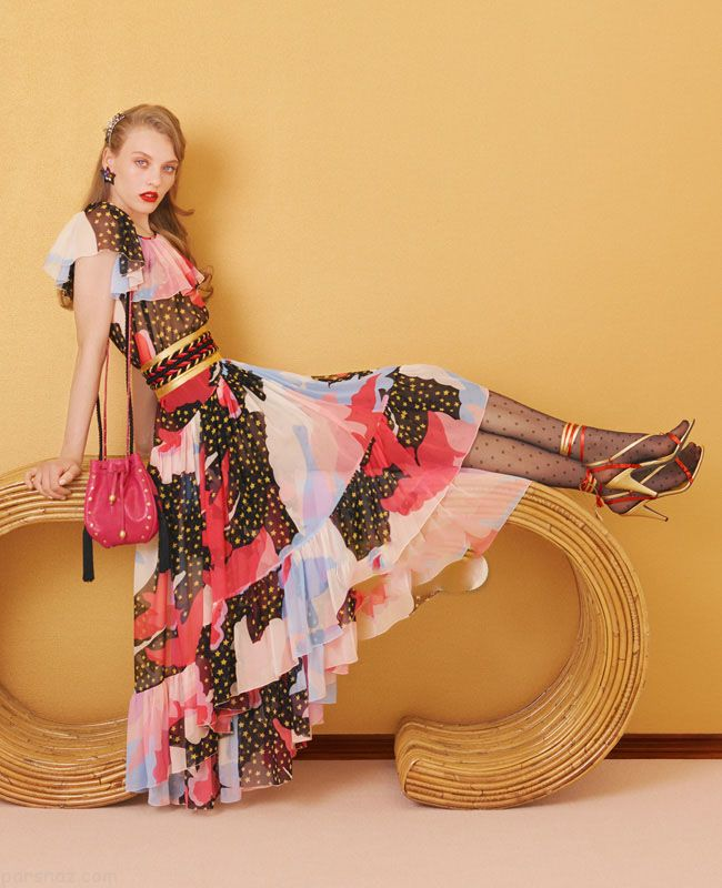 مدل لباس مجلسی فانتزی شیک زنانه جدید