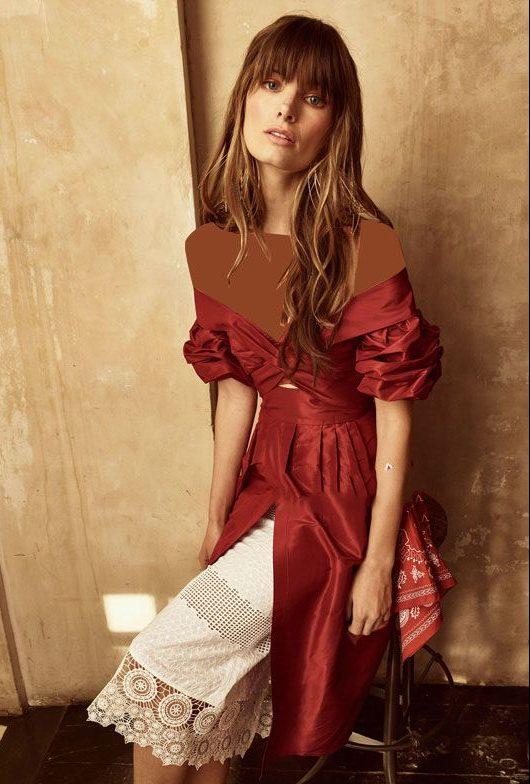 مدل لباس مجلسی زنانه شیک برند Johanna Ortiz