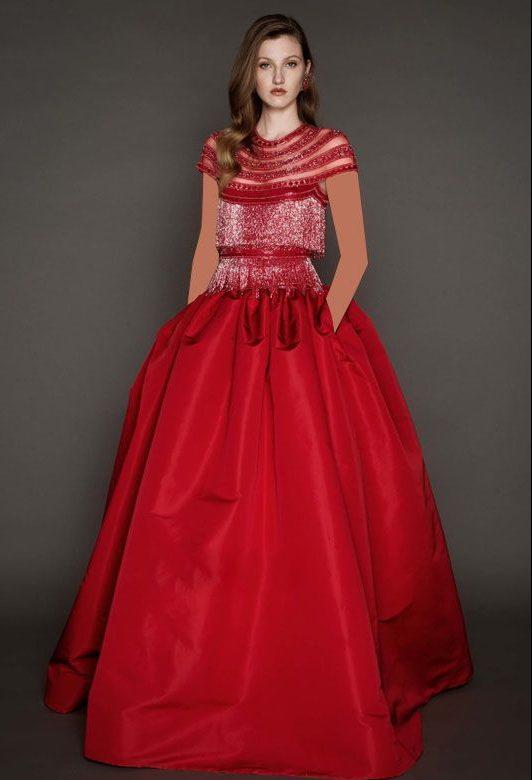 زیباترین مدل لباس مجلسی برند Naeem Khan