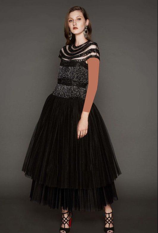 مدل لباس مجلسی برند Naeem Khan