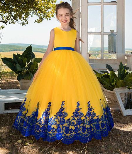 زیباترین مدل لباس مجلسی پرنسسی دخترانه JeorjettDress