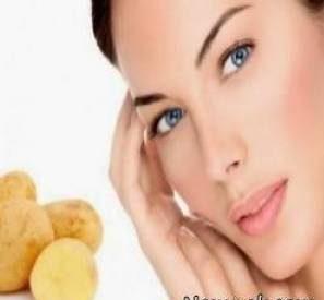 ترفندهای زیبایی پوست و مو با استفاده از سیب زمینی