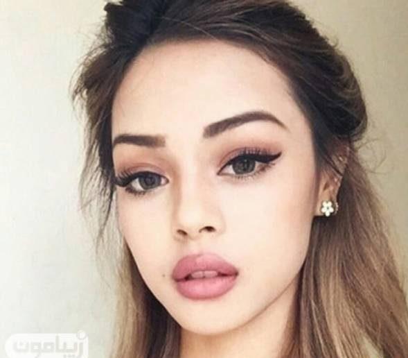 آرایش ملایم و میکاپ جدید دخترانه