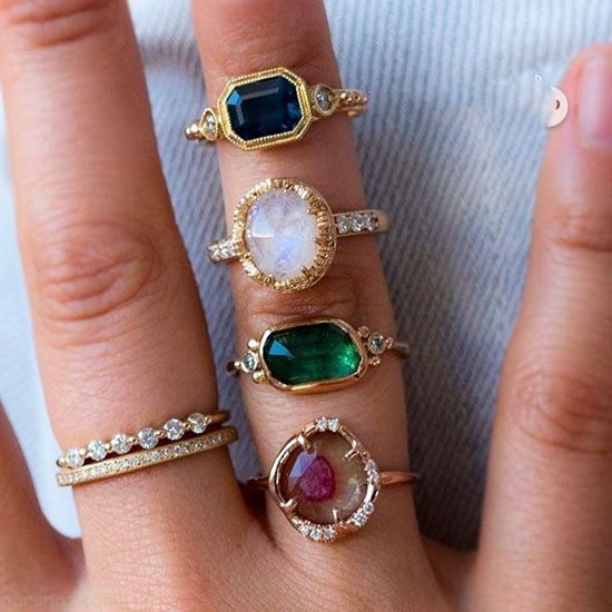مدل می دوتکه مدل جواهرات شیک از برند Audry Rose