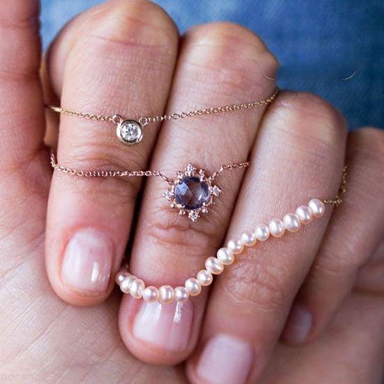 مدل جواهرات شیک از برند Audry Rose